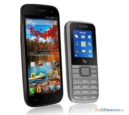 отличие смартфона от телефона