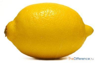 Чем отличается лайм от лимона по вкусу. Состав лайма