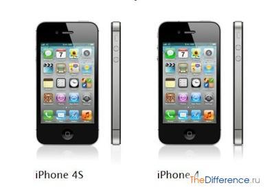 Чем отличается iPhone 4S от iPhone 4