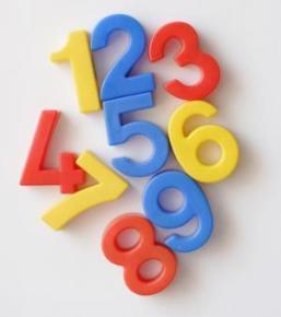 Отличие цифры от числа