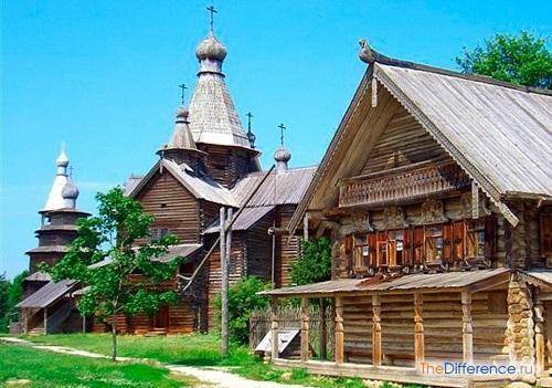 отличие села от деревни