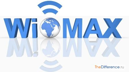отличие Wi-Fi от WiMAX