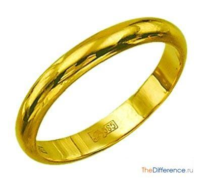 отличие желтого золота от белого