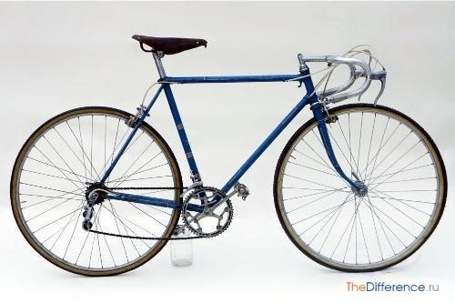 разница между горным велосипедом и дорожным