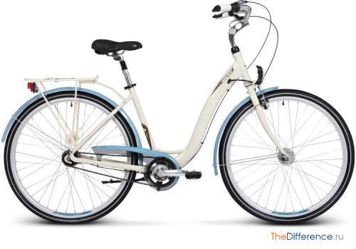 отличие городского велосипеда от дорожного