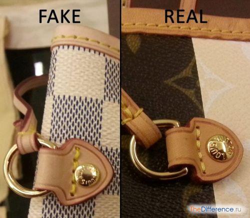 отличие настоящей сумки от поддельной