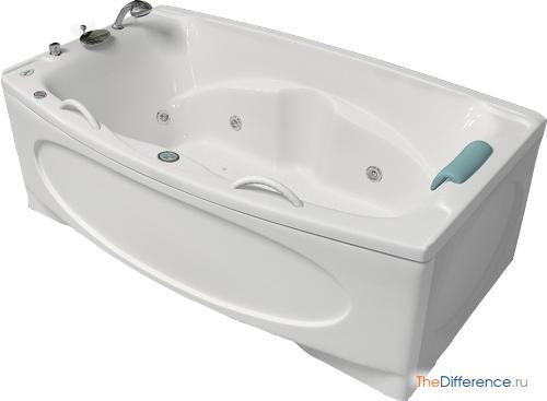 разница между акриловой и чугунной ванной