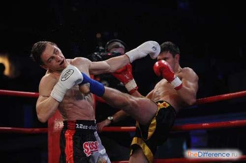 разница между боксом и кикбоксингом