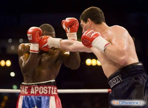отличие кикбоксинга от бокса