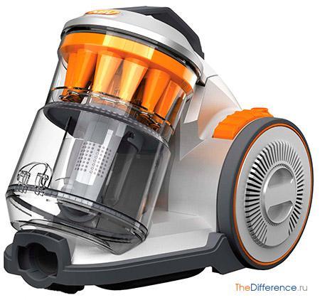 отличие моющего пылесоса от пылесоса с аквафильтром
