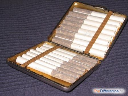 разница между сигаретами и папиросами