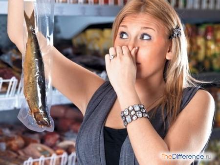 отличие свежей рыбы от несвежей