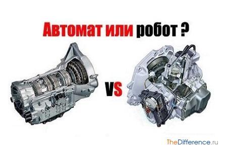 отличие робота от автомата