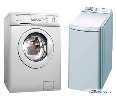 отличие стиральной машины с фронтальной загрузкой от вертикальной