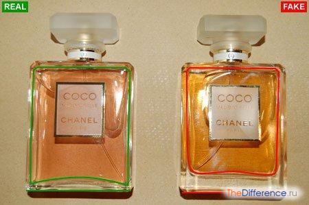 отличие настоящего парфюма от подделки