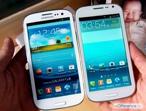 отличие Samsung Galaxy S3 от подделки
