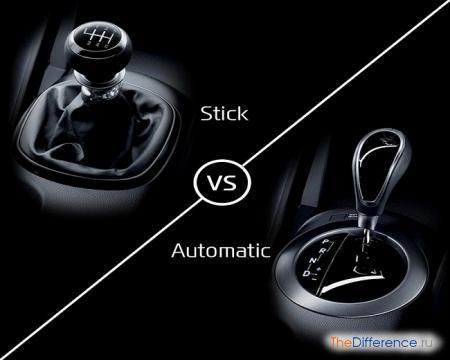 отличие автоматической коробки передач от механической