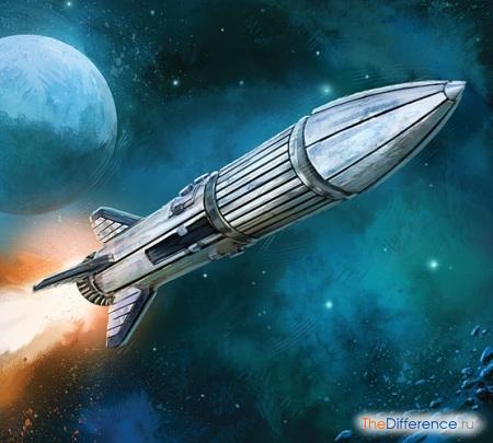 разница между спутником и ракетой
