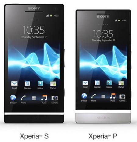 отличие Sony Xperia P и Sony Xperia S