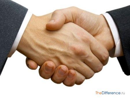 отличие hand от arm