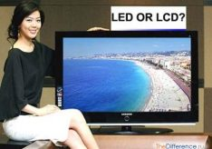 Разница между LED и LCD (ЖК)