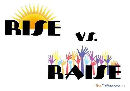 отличие rise от raise