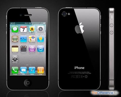 отличие iPhone 4s от подделки