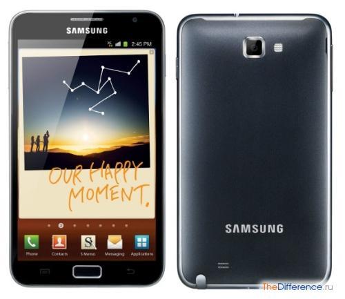 отличие Samsung Galaxy Note от подделки