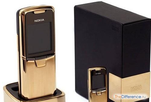 отличие Nokia 8800 от подделки
