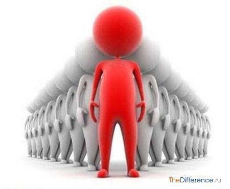 отличие индивида от личности