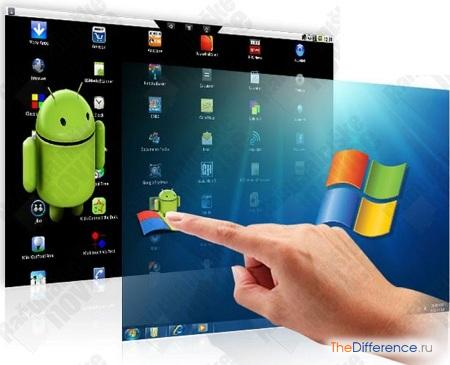 отличие Android от Windows