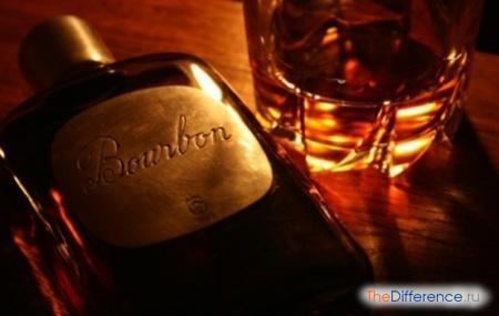 отличие бурбона от виски