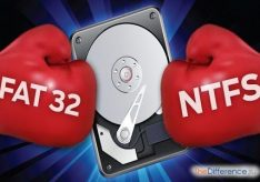 Разница между FAT32 и NTFS