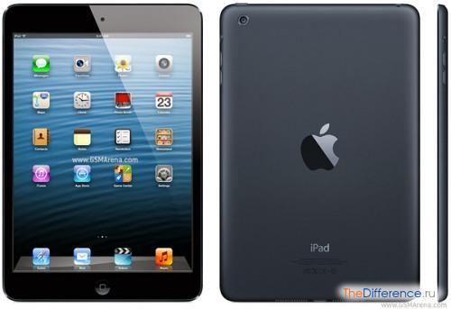 отличие iPad Mini от iPad 3
