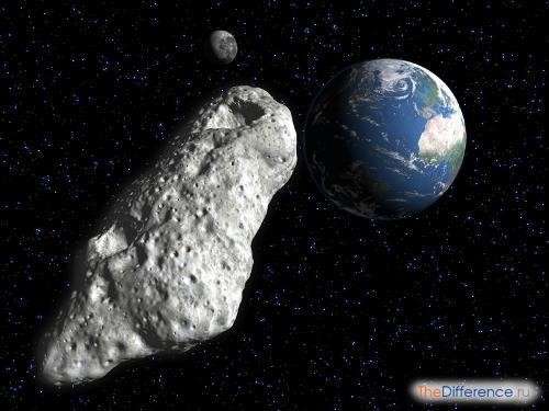 отличие кометы от астероида