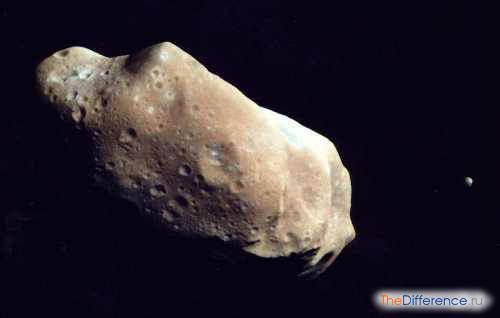 отличие метеорита от астероида