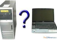 Разница между ноутбуком и компьютером