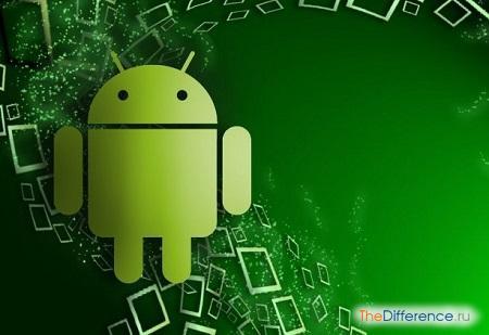 отличие смартфона от андроида