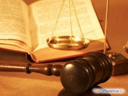 отличие юриста от адвоката