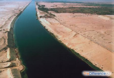 отличие каналов от рек