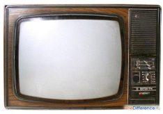 Разница между монитором и телевизором