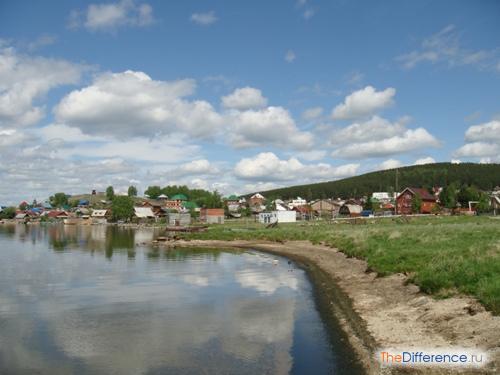 отличие села от поселка