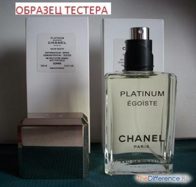 отличие тестера от оригинального парфюма