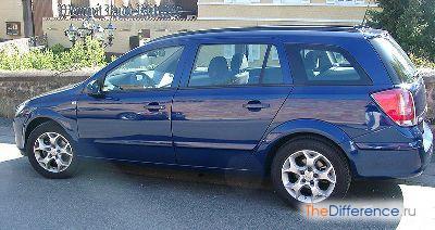 Opel Astra H - пример универсала
