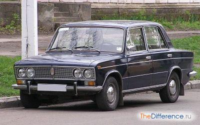 отличие ВАЗ-2103 от ВАЗ-2106