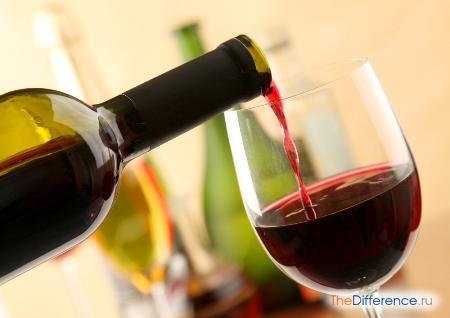 отличие сухих, полусухих, полусладких и десертных вин
