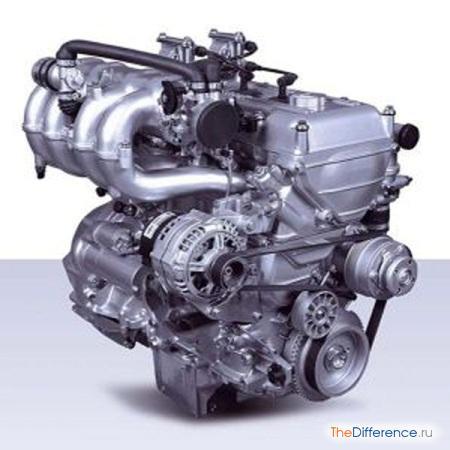 отличие 406 двигателя от 405