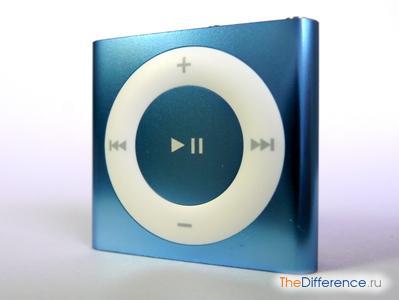 отличие iPod Shuffle 4g от iPod Shuffle 5g