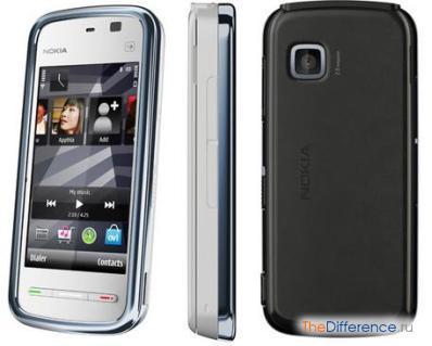 разница между Nokia 5230 и Nokia 5228