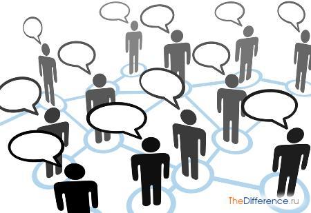 отличие общения от коммуникации